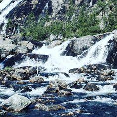 Waterfalls!   #waterfall #water #stream #trees #nature #calm #relaxing #texture #travel #rock #adventure #hiking #norway by kastytis_donauskis