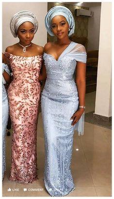 Nigerian Lace Styles Dress, Aso Ebi Lace Styles, African Lace Styles, African Prom Dresses, Lace Dress Styles, Latest African Fashion Dresses, African Dress, Women's Fashion Dresses, African Style