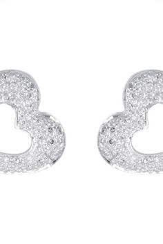 $918 - 1/4 ct tw Diamond Heart Earrings.    Quality - 14K White    Option 1- COMPLETE WITH STONE     Option 2 - DIAMONDS     Option 3 - I1-H     Optioni 4 - FRICTION POST & BACK     Finish - Polished     Series Description - 1/4 CTW DIMAOND HEART EARRINGS     Weight: 0.87 DWT ( 1.35 grams)      ST-650078    Visit our website at http://www.thesgdex.com  The Silver Gold & Diamond Exchange  WE BUY | SELL | TRADE | CONSIGN | AUCTION | APPRAISE