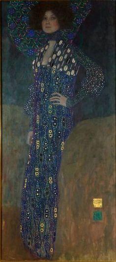 Gustav Klimt, Austria 1862 – 1918  Emilie Flöge   1902