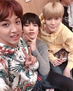 Haechan, Taeyong and Jaehyun