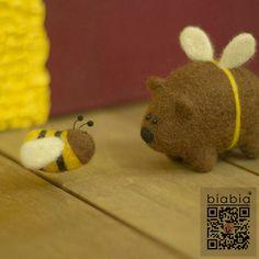 Biabia piquez laine amusant sentait matériau bricolage à la main kit de matériaux de poupées petite abeille dans Couture de Maison & Jardin sur AliExpress.com   Alibaba Group