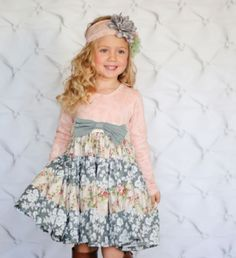 Giggle Moon Tree of Life Party Dress