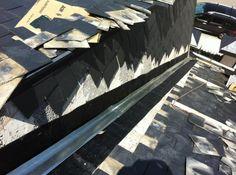 reparacion de un tejado de pizarra en boadilla que se puso doble proteccion para asegurar futuros problemas Wood, Crafts, Slate Roof, Manualidades, Woodwind Instrument, Timber Wood, Trees, Handmade Crafts, Craft