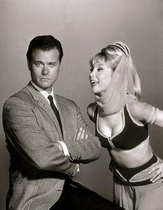 Larry Hagman & Barbara Eden
