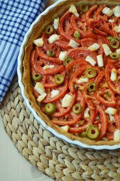 Ratatouille, Tart, Cooking, Ethnic Recipes, Food, Kitchens, Kitchen, Pie, Essen