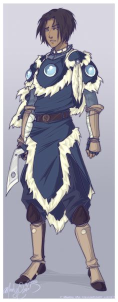 Warrior Sokka by ~Mandy-Mo on deviantART. Totally gorgeous!!
