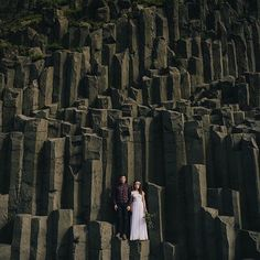 Stunning #weddingportrait in #iceland captured by our #GWSweddingartist @charisrowland  by greenweddingshoes