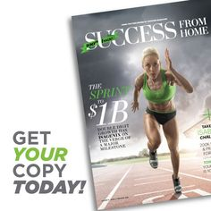 Isagenix is being featured in the 100th issue of Success From Home magazine—a newsstand publication focused on home-based business solutions. You can get it on newsstands—or in bookstores—near you, starting in January 2016. This is the perfect tool to share with your team, display at a Launch Party, or give to potential new prospects.