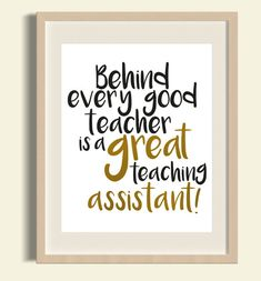 Behind every good teacher is a great teaching by FloxCreative