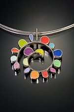 Polymer Clay Necklace by Lou Ann Townsend and Mary Filapek