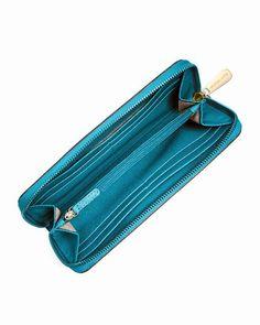 Michael Kors Jet Set Saffiano Brieftasche TÜRkis 0 #bagsandpurses#jewellery|#jewellerydesign}