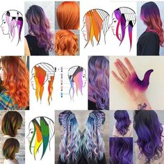 How the hell does my hand end up in the top 9 Gotta step up my hair game I gues. How the hell does Hair Color Techniques, Colouring Techniques, Hair Color Formulas, Corte Y Color, Coloured Hair, Hair Game, Hair Painting, Rainbow Hair, Cool Hair Color