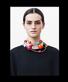 A necklace that is also ▼ART▲º•☆•º•☆•º•☆•º  ●SCULPTURE.JEWELRY● #ultimatestatement necklace