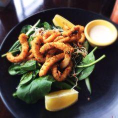 レシピとお料理がひらめくSnapDish - 2件のもぐもぐ - Fried Calamari by stephanie mizuha