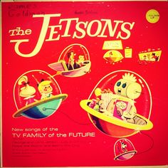 The Jetsons: New songs of the tv family of the future 1963. http://www.facebook.com/cratesofspace http://instagram.com/waxcavator