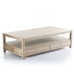 Simple Storage Coffee Table | wisteria $800