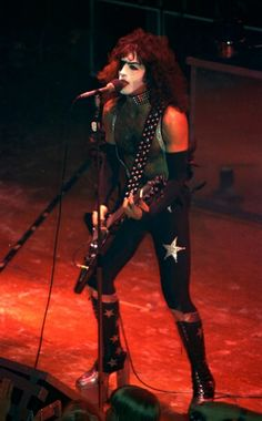Paul Stanley, KISS, Live in Mannheim, 1976