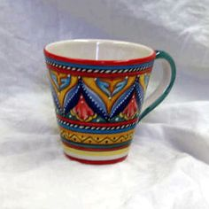 decorative ceramic mug