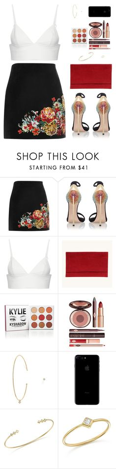 """Sin título #4527"" by mdmsb on Polyvore featuring moda, River Island, Casadei, T By Alexander Wang, Charlotte Tilbury y ZoÃ« Chicco"
