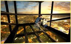 The Tallest viewpoint in the Southern hemisphere is the Eureka Sky Deck located in Melbourne (Australia.)