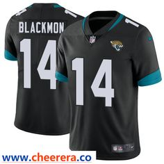449be1bdf Nike Jacksonville Jaguars  14 Justin Blackmon Black Alternate Men s  Stitched NFL Vapor Untouchable Limited Jersey
