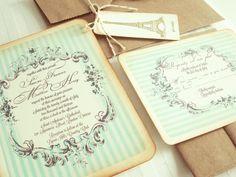 laduree wedding invitations - Google Search