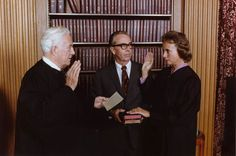 On September 25, 1981, Sandra Day O'Connor became the first woman to be sworn in as a Justice of the U.S. Supreme Court.
