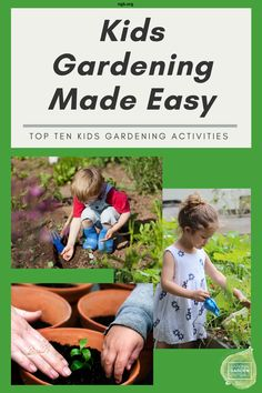 Top Ten Kids Gardening Tips that are 'tried and true' plant-based activities that are joyful for any age and don't involve any screen time. Organic Gardening, Gardening Tips, Growing Bell Peppers, Growing Peas, Flora Farms, Tomato Plants, Garden Projects, Garden Ideas, Grow Your Own Food