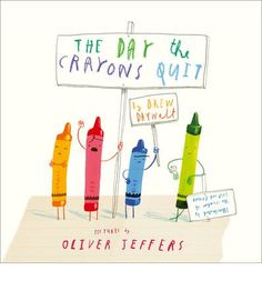 #oliverjeffers #drewdaywalt #crayons #creativity #harpercollins