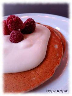 Vegane Dinkel-Bananen-Pancakes Panna Cotta, Pudding, Banana, Diet, Ethnic Recipes, Desserts, Food, Dessert Ideas, Kuchen