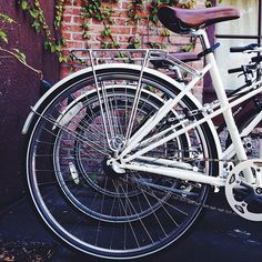 Or fleet of bikes at San Luis Obispo's Granada Hotel & Bistro. Photo by @marbleryephoto
