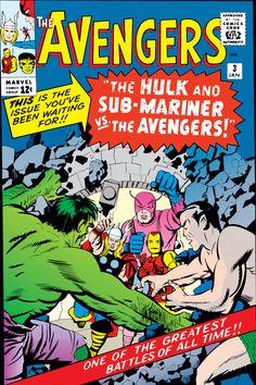 Avengers 003 (1964) (Digital) Sub-Mariner And Hulk Team-Up To Battle Avengers!