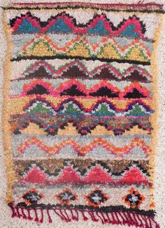 BOUCHEROUITE RUG #14 - 5 X 3.5 Pretty Mommy