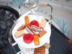 Afternoon tea at Shangri-La,  10 Avenue d'Iena, Paris