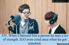 That explains why KyungSoo always hits Chanyeol nowadays. HAHA