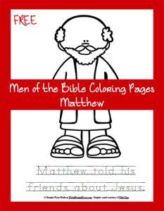jesus calls levi coloring pages - photo#31