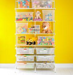 The Container Store > White elfa freestanding Kid's Storage