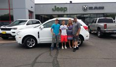 Angela, congratulations from all of us here at McKay's Chrysler Dodge Jeep Ram.