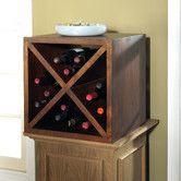 Palindrome Wine Storage Cube