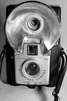 Kodak Starflash Brownie 127 film camera belonged to my late Mother.