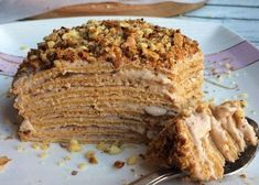 Russia Diet And Slimming Pancake Dessert, Easy Eat, Tasty, Yummy Food, Food Dishes, Pork, Food And Drink, Sweets, Healthy Recipes