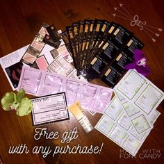 Free gift with every purchase! I have a ✨ton✨ of Mary Kay samples that need a new home, so every purchase will include a free gift! Other
