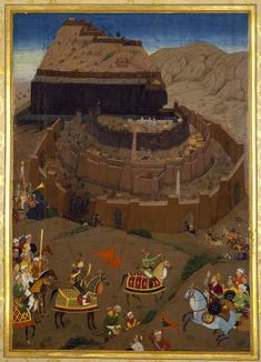 Murar. The Mughal Siege of Daulatabad in the Deccam (April-June 1633). The Mughal forces finally succeeded in conquering the fortress of Daulatabad, the greatest of Deccani strongholds, on 27 June 1633. Padshahnama, 1656-57