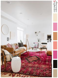 7 Dreamy ideas for a Moroccan inspired living room Boho Living Room Dreamy Ideas Inspired Living Moroccan Room Cheap Living Room Sets, Boho Living Room, Living Room Carpet, Rugs In Living Room, Living Room Decor, Moroccan Decor Living Room, Barn Living, Home Interior, Interior Design Living Room