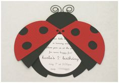 My daughter LOVES ladybugs! She would love this party!