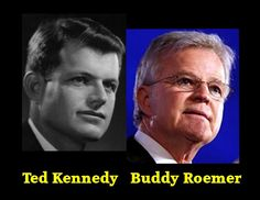 Ted Kennedy Buddy Roemer