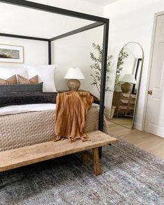 Bedroom Inspo, Home Bedroom, Master Bedroom, Bedroom Decor, Bedroom Ideas, Bedroom Colors, Bedroom Wall, Apartment Decoration, Bedroom Styles