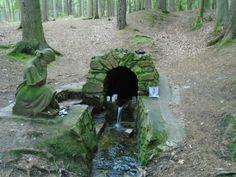 Svatováclavský pramen u obce Chmelná