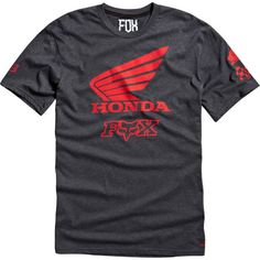 Dirt Bike Fox Racing Honda Premium T-Shirt | MotoSport